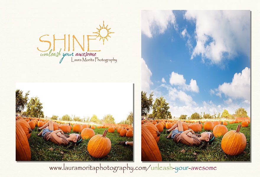 SHINE ~ Unleash Your Awesome ~ Laura Morita Photography | Online editing workshop